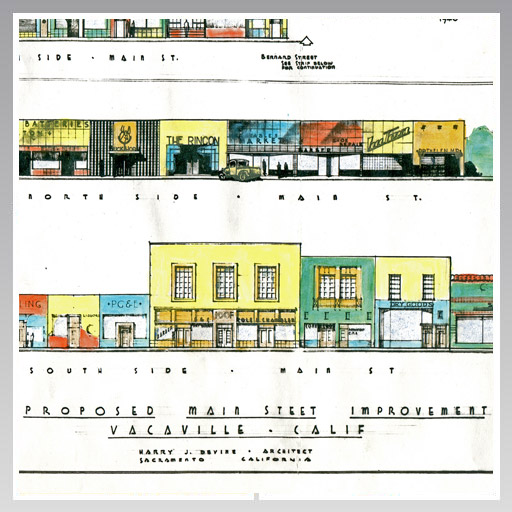 1946 Proposed Main Street Improvement - Vacaville