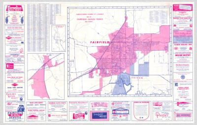 1972 Fairfield Map